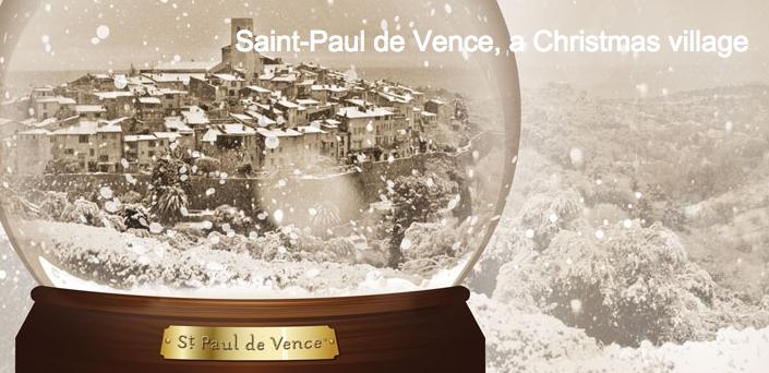 Noël à St. Paul de Vence