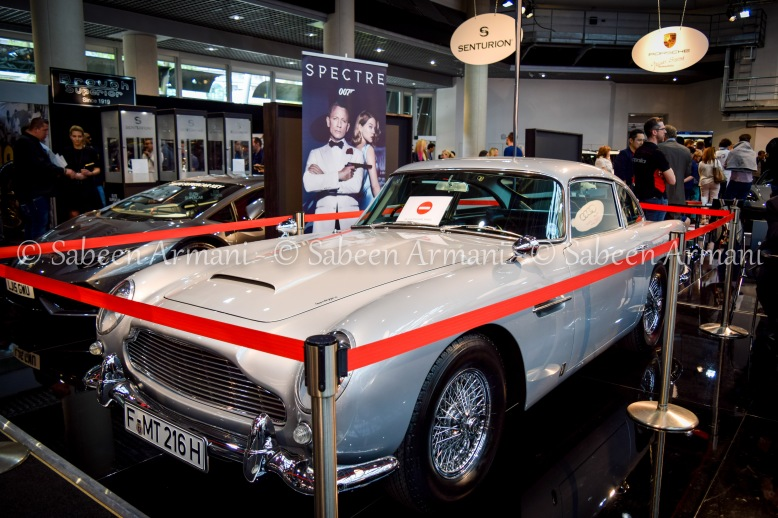 Aston Martin DB5, which was featured in the James Bond Film, 'Spectre'
