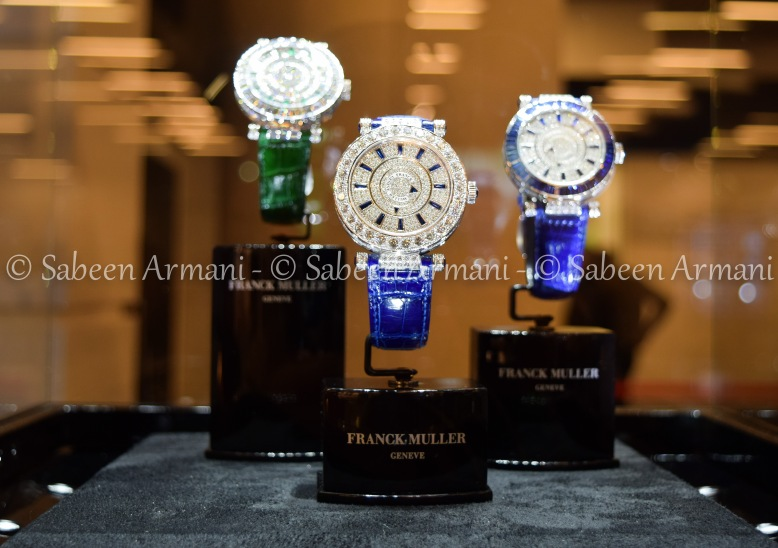 Franck Muller Luxury Watches at Top Marques Monaco
